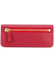 Tom Ford Jennifer Clutch Women Calf Leather Sheep Skin Shearling One Size Red
