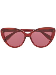 Alexander Mcqueen Eyewear Cat Eye Frame Sunglasses 60