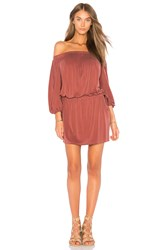 Yfb Clothing Aletta Dress Rust