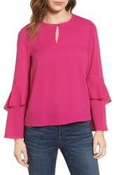 Cooper And Ella Women's Agatha Ruffle Blouse