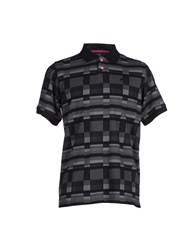 Lrg Topwear Polo Shirts Men Black