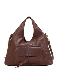 Sanctuary Laurel Canyon Leather Tote Chocolate
