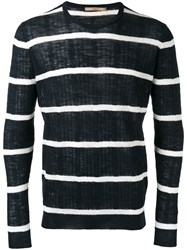 Nuur Striped Jumper Blue