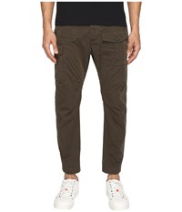 Dsquared Sexy Cargo Pants Military Green Men's Casual Pants