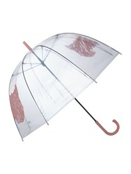 Radley Scribble Dog Birdcage Umbrella Pink