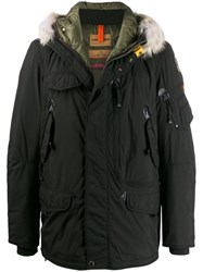 Parajumpers Hooded Padded Jacket Black