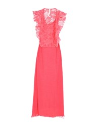 Met Long Dresses Coral