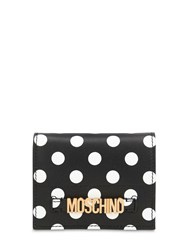 Moschino Dot Printed Leather Wallet Array 0X5858690