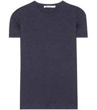 Alexander Wang Superfine Cotton T Shirt Blue