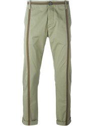 Christian Pellizzari 'Parachute Chinese' Trousers Green