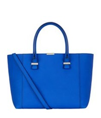 Victoria Beckham Quincy Tote Peacock Blue