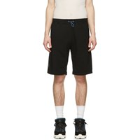 Unravel Black Terry Basketball Shorts