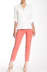 Anne Klein Cropped Pant Pink