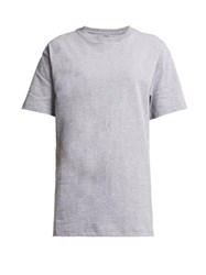 Hanes X Karla The Original Cotton Jersey T Shirt Grey