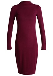 Bik Bok Jumper Dress Dark Burgundy Bordeaux