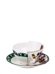 Seletti Hybrid Isidora Tea Cup And Saucer