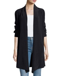 Lamade Juliet Convertible Silk Jacket Black