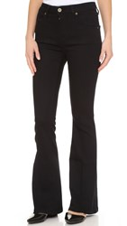 Fine By Superfine City Flare Jeans Black