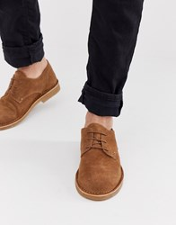 Office Inferno Desert Shoes In Tan Suede