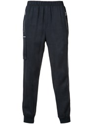 Atm Anthony Thomas Melillo Elastic Waist Pants Blue
