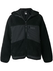 P.A.M. Perks And Mini Pam Fur Effect Hooded Jacket Black