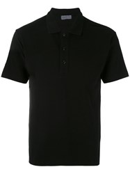 Yohji Yamamoto Classic Polo Shirt Men Cotton 3 Black