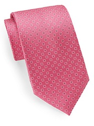 English Laundry Silk Medallion Embroidered Tie