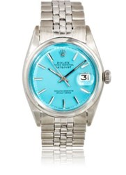 Vintage Watch Women's Oyster Perpetual Datejust Turquoise