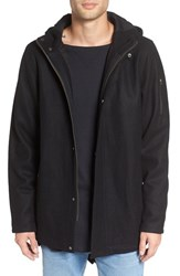 Zanerobe Men's Tion Melton Wool Blend Longline Fishtail Parka