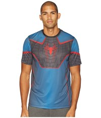 Spyder Marvel Short Sleeve Tee Black Spiderman T Shirt
