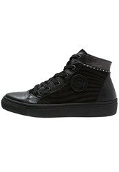 Pataugas Yoko Hightop Trainers Noir Black