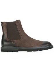 Tod's Chelsea Ankle Boots Brown