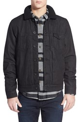 Men's Volcom 'Beemack' Faux Shearling Lined Denim Jacket