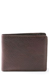 Boconi Men's 'Tyler' Rfid Wallet Brown Coffee