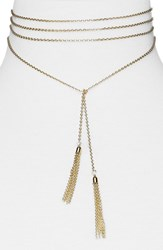 Baublebar Women's Axelia Layered Y Necklace