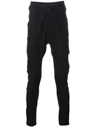 Cedric Jacquemyn Low Pockets Tapered Trousers Black