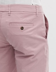 Ben Sherman Stretch Chino Shorts Pink