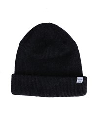 Norse Projects Charcoal Lambswool Hat Grey