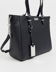 Carvela Fina Winged Tote Bag Black