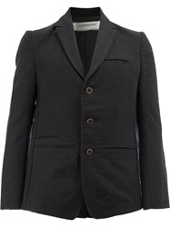 Individual Sentiments Straight Fit Blazer Black