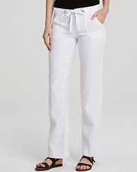 Sanctuary Linen Beach Comber Pants White