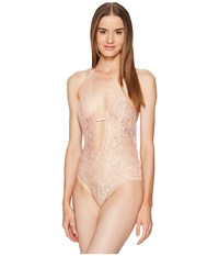 Agent Provocateur Siena Non Wired Body Blush Women's Jumpsuit And Rompers One Piece Pink