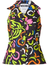 Moschino Flower Print Blouse