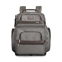 Tumi Alpha 2 T Pass Business Class Brief Pack Earl Grey