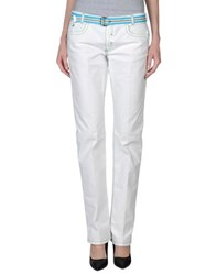 Brooksfield Denim Denim Trousers Women White