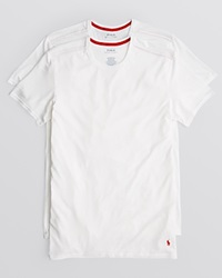 Ralph Lauren Supreme Comfort Crewneck Tee Pack Of 2 White