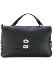 Zanellato Large 'Original Silk' Tote Black