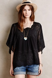 Meadow Rue Olimpia Embroidered Top