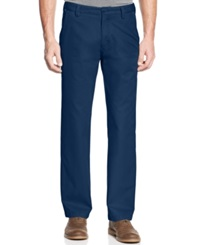 Cutter And Buck Big And Tall Beckett Flat Front Pants Liberty Navy