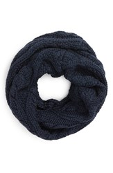Canada Goose Women's Chunky Cable Wool Snood Ink Blue